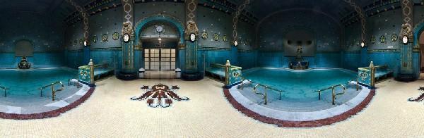 Les bains Gellért de Budapest