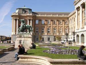 le palais royal de Budapest
