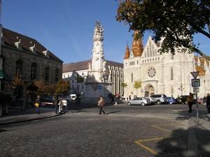 Budapest : place de la Trinité