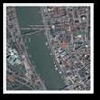 La place Kossuth de Budapest sur la Carte