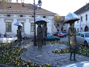 Un quartier de Budapest : Óbuda